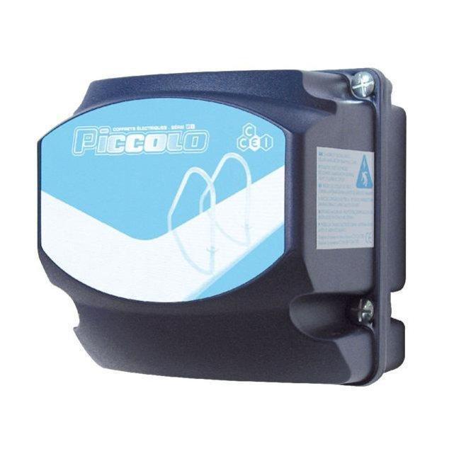 Ccei c coffret lectrique piccolo pi 305lte commande - Coffret filtration piscine ...