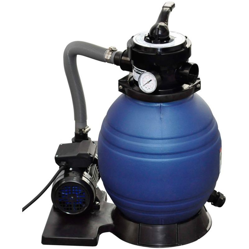 Vidaxl filtre sable pour piscine 102 m h for Sable pour filtre piscine