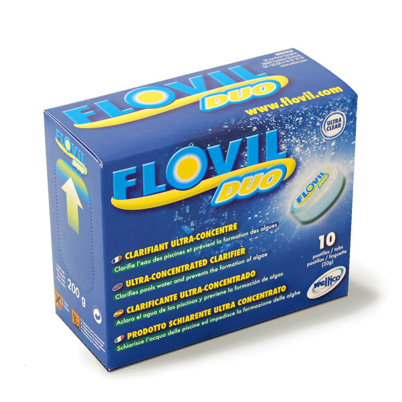 Weltico flovil duo clarifiant ultra concentr for Clarifiant piscine