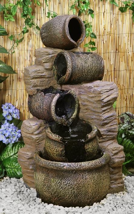 Cat gorie fontaine de jardin page 4 du guide et comparateur d 39 achat - Fontaine de jardin en polyresine ...
