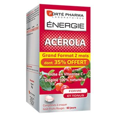 forte pharma energie acerola 60 comprim s cat gorie vitamines. Black Bedroom Furniture Sets. Home Design Ideas