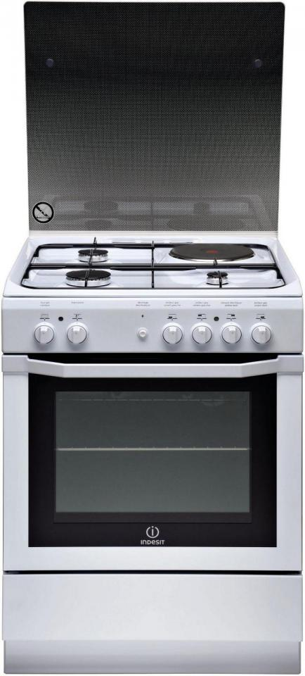 Cuisiniere-mixte INDESIT -