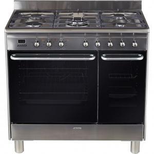 smeg cg 92 px 9 catgorie cuisinire gaz. Black Bedroom Furniture Sets. Home Design Ideas