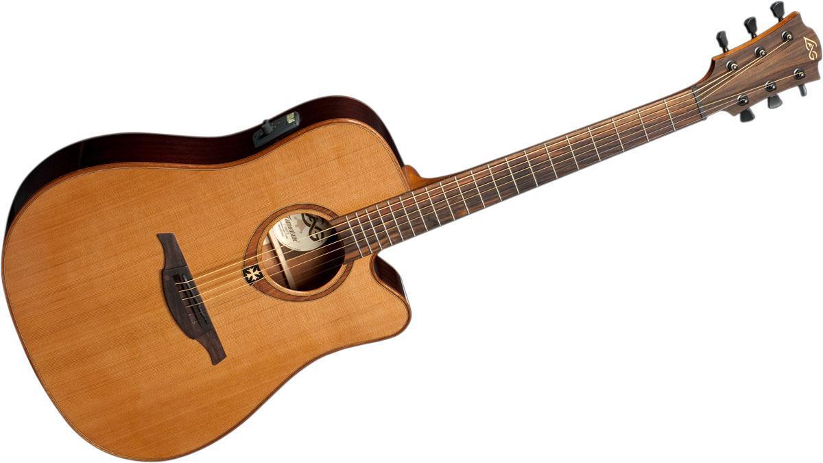 Lag c t100dce dreadnought ctw ac el - 100 pics solution instrument de musique ...