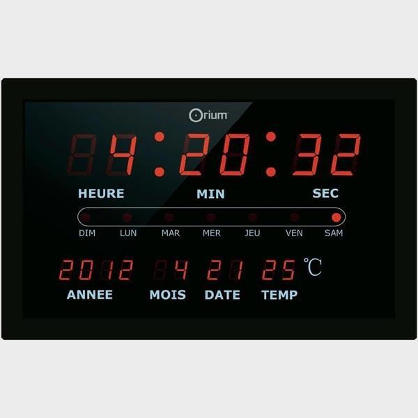 horloge 224 led guide d achat