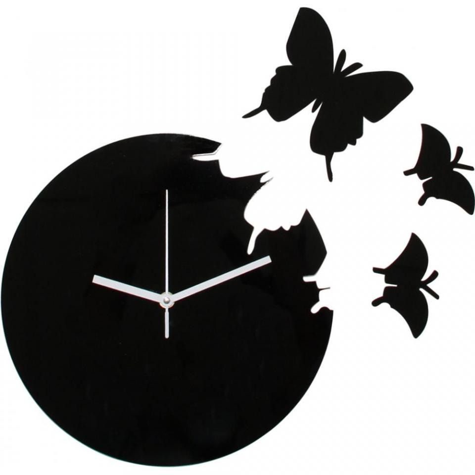 Cat gorie horloges pendule et comtoise du guide et - Pendule murale papillon ...