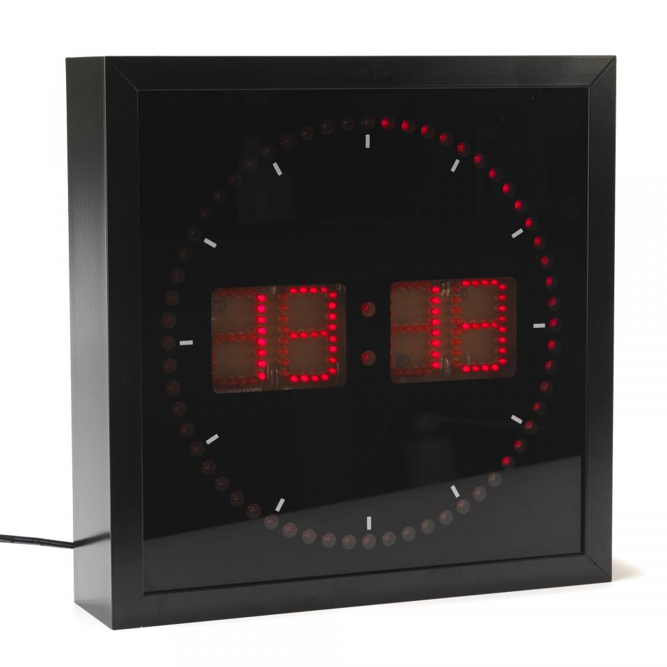 horloge led guide d 39 achat. Black Bedroom Furniture Sets. Home Design Ideas