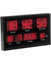 Recherche horloge date du guide et comparateur d 39 achat - Horloge digitale murale led ...