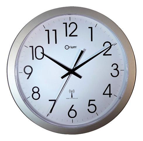 Orium cat gorie horloges pendule et comtoise for Horloge murale inox