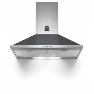Bertazzoni germania k80amlnd hotte grande largeur for Type de hotte de cuisine
