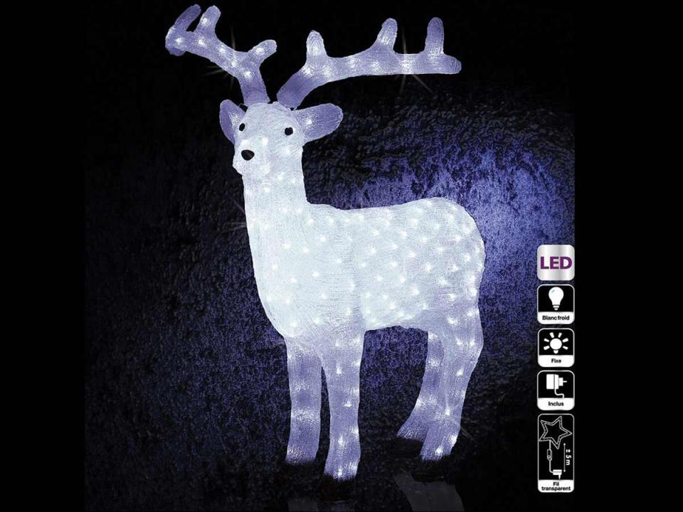 Catgorie illumination de nol du guide et comparateur d 39 achat - Decoration noel renne lumineux ...