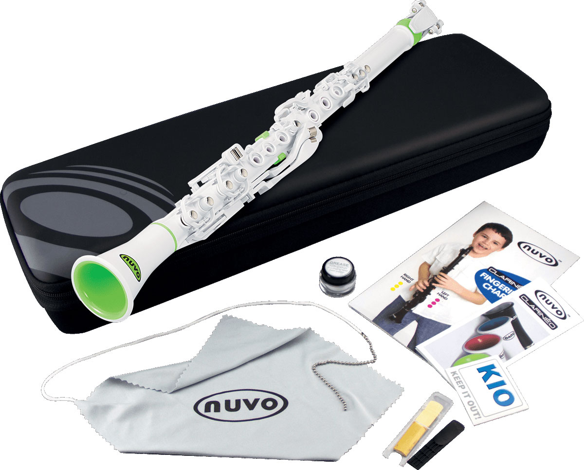 Nuvo c clarineo n100dwgn clarinette ut plastique blanch - 100 pics solution instrument de musique ...