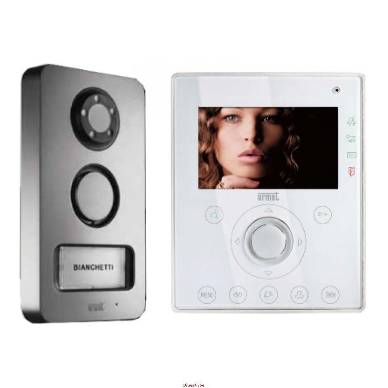 Urmet ckit audio 2r 4bp 655 open 655204 - Interphone video urmet ...