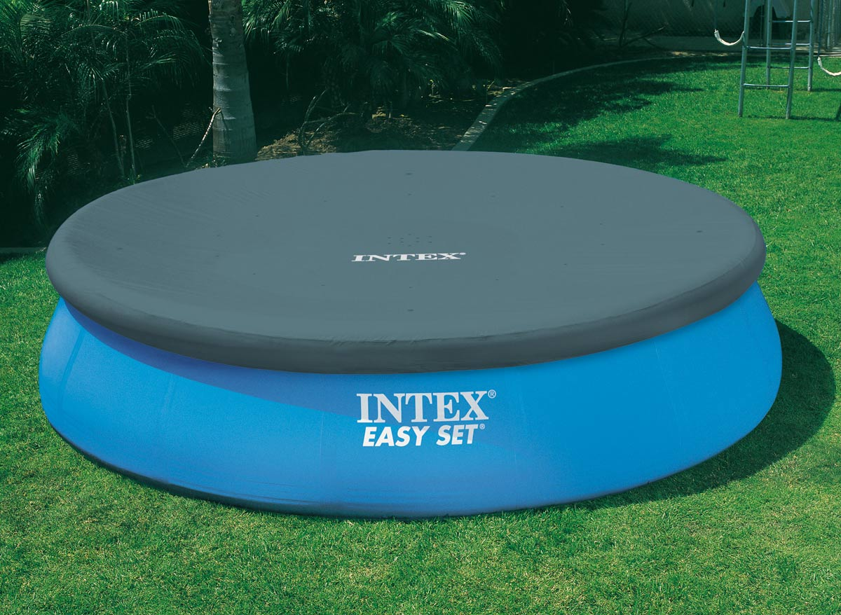 Intex b che de protection autoportante 549 m for Piscine intex 5 m