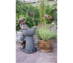 Ubbink cfontaine de jardin detroit for Jardin etroit