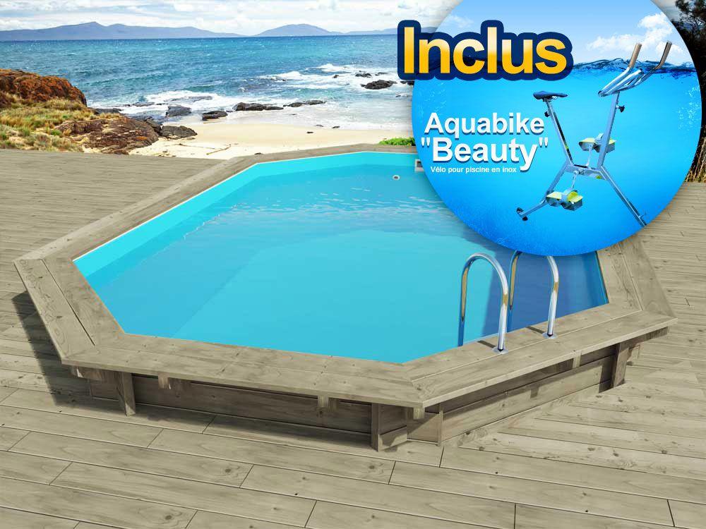 viva piscine bois florida x x m. Black Bedroom Furniture Sets. Home Design Ideas