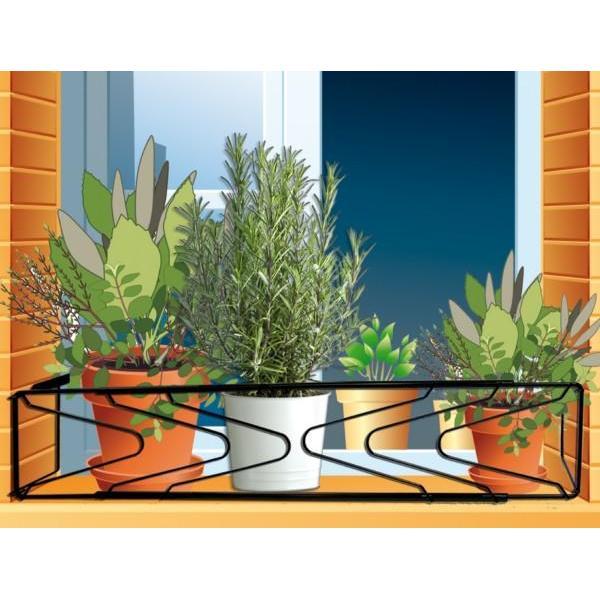 centroflor csupport fentre pour pots et jardinires sv 1. Black Bedroom Furniture Sets. Home Design Ideas