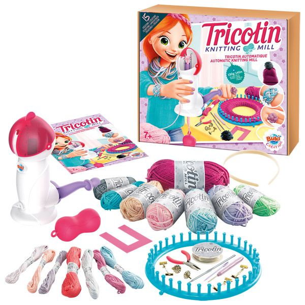 Buki atelier tricotin fille ds 7 ans for Jeu de fille de decoration de maison gratuit