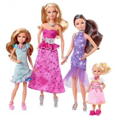 mattel c barbie et ses soeurs au club hippique set les. Black Bedroom Furniture Sets. Home Design Ideas