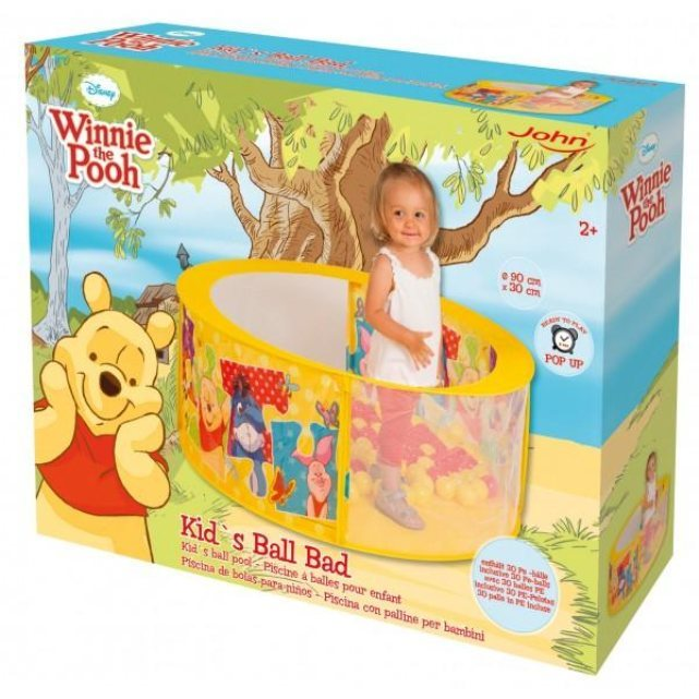 Disney piscine balles winnie lourson for Piscine a balle jouet club
