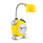Brilliant lampe happy avec rveil jaune for Lampe de bureau jaune