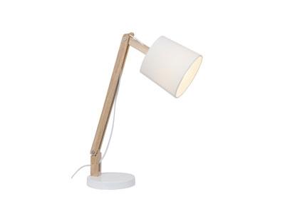 brilliant carlyn lampe poser bois. Black Bedroom Furniture Sets. Home Design Ideas