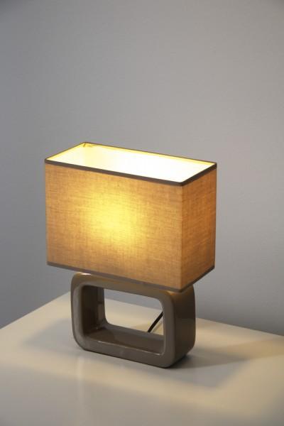 honsel lampe de table nea brun 1 lumi re moderne. Black Bedroom Furniture Sets. Home Design Ideas