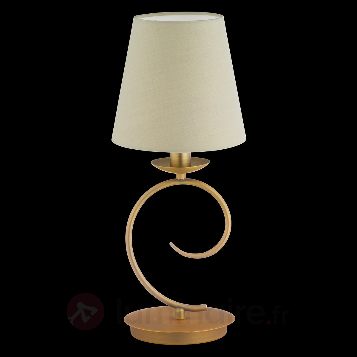 honsel ctwist lampe poser bronze 1 lumi re classiqu. Black Bedroom Furniture Sets. Home Design Ideas