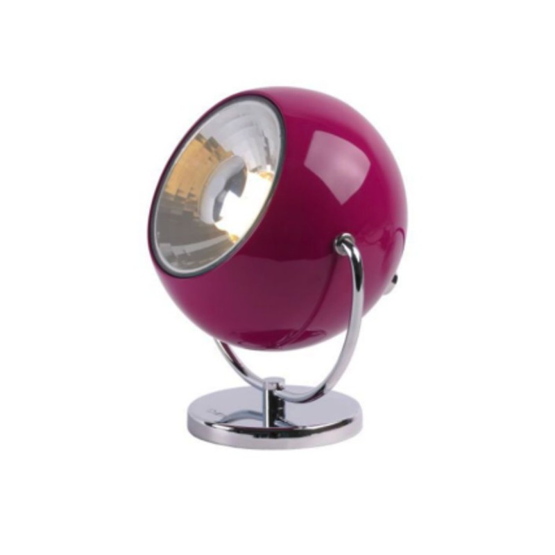 lucide c lampe poser comet spot orientable mauve. Black Bedroom Furniture Sets. Home Design Ideas