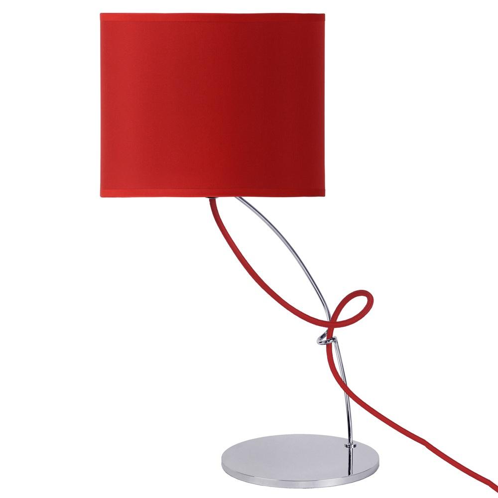Lucide cswing lampe poser rouge - Lampe salon originale ...