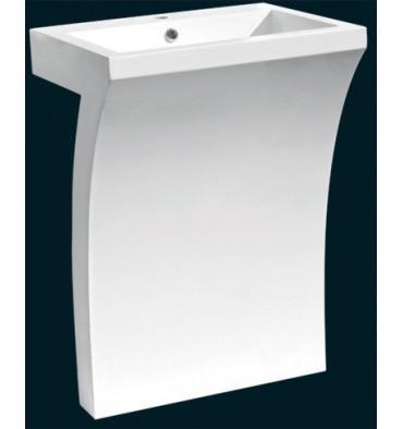 Catgorie lavabo et vasque page 3 du guide et comparateur d 39 achat - Lavabo double vasque sur colonne ...