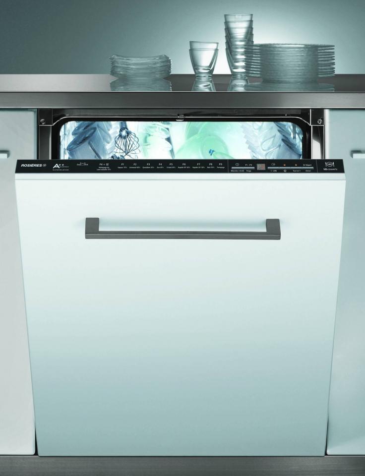 rosieres rlf6621e 47 cat gorie lave vaisselle. Black Bedroom Furniture Sets. Home Design Ideas