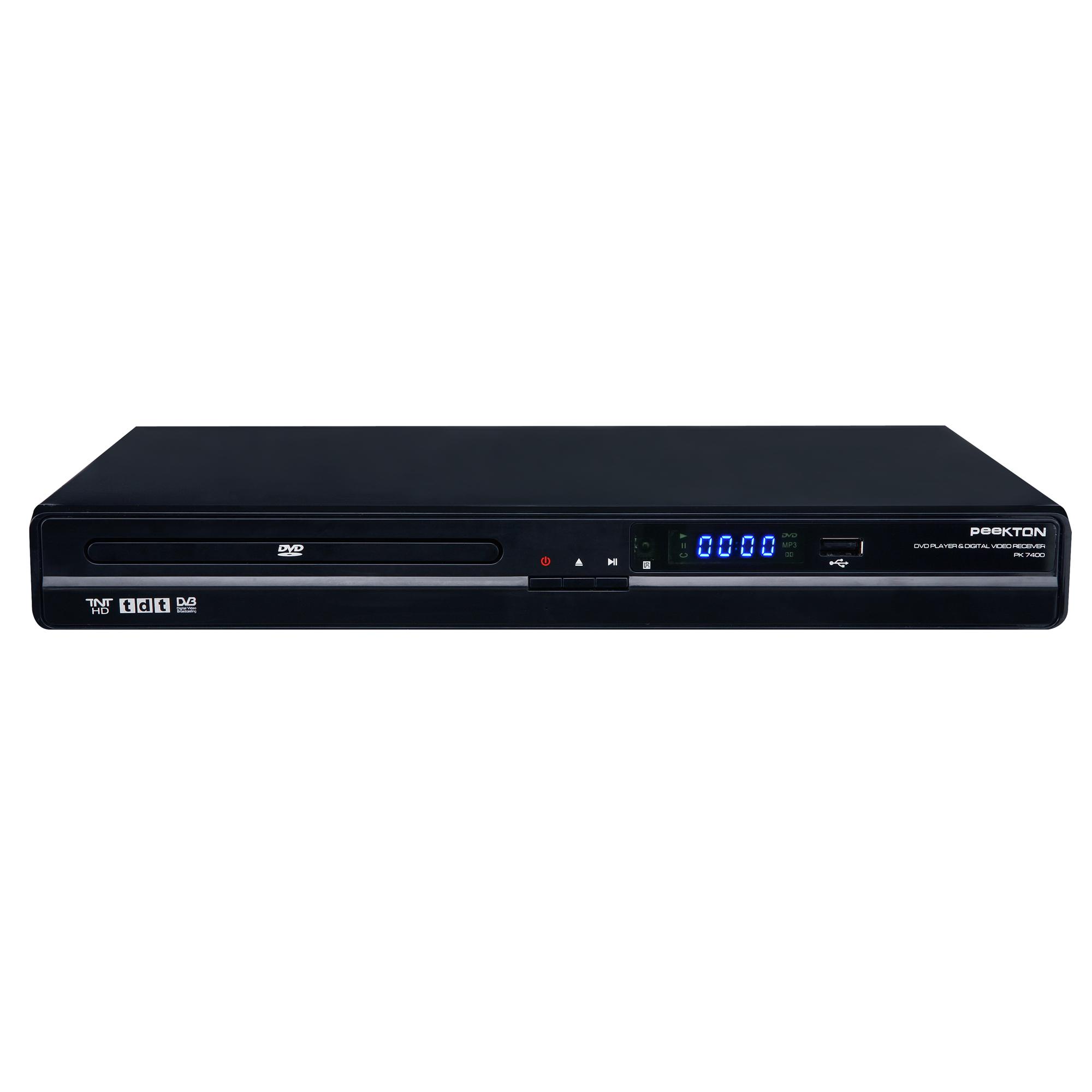 Peekton pk 7400 - Lecteur dvd de salon ...