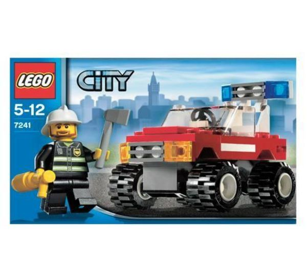 lego 7241 city voiture de pompiers. Black Bedroom Furniture Sets. Home Design Ideas