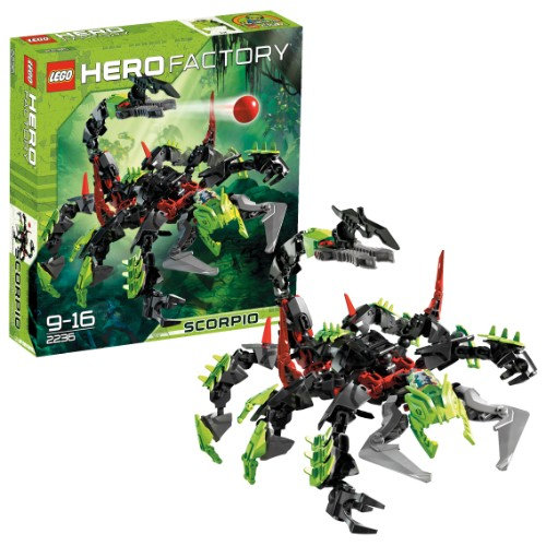 lego c 2236 hero factory scorpio