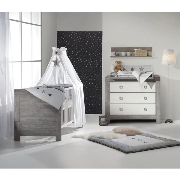 schardt lit b b volutif nordic driftwood 70 x 140 cm. Black Bedroom Furniture Sets. Home Design Ideas