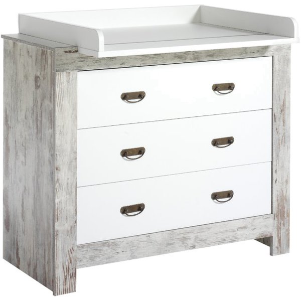 schardt nordic chic commode langer avec plateau langer. Black Bedroom Furniture Sets. Home Design Ideas