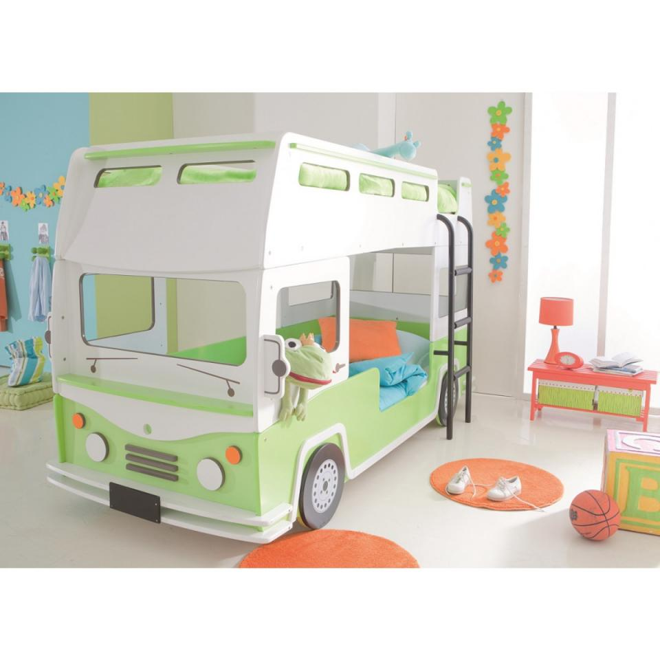 lit enfant bus. Black Bedroom Furniture Sets. Home Design Ideas