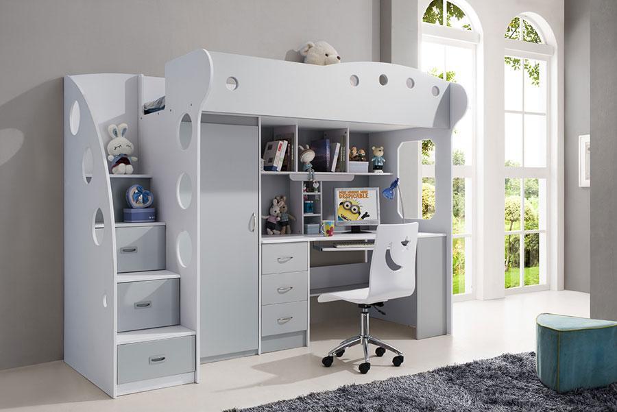 Escalier guide d 39 achat - Lit bureau armoire combine ...