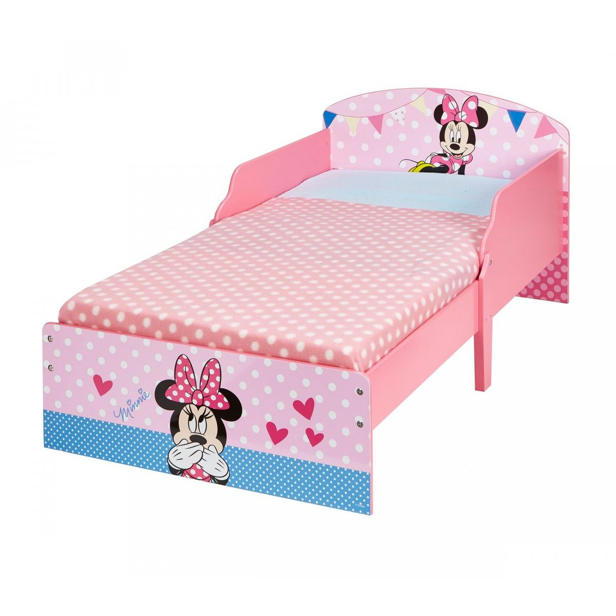 terre lit enfant minnie cosy 70x140 de nuit. Black Bedroom Furniture Sets. Home Design Ideas