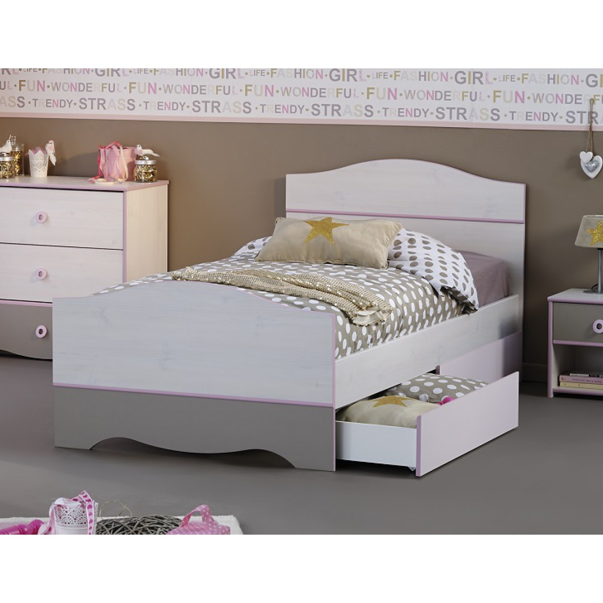 lits enfants soldes. Black Bedroom Furniture Sets. Home Design Ideas