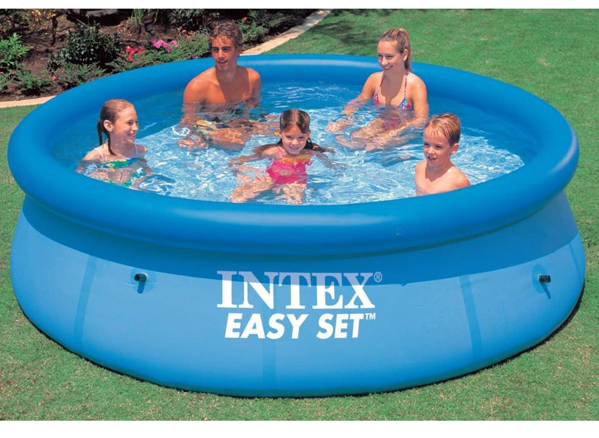 Intex piscine autostable 305 x 076 m for Piscine 3 boudins intex