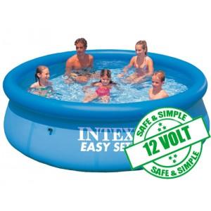intex piscine easy set x m en kit avec filtra. Black Bedroom Furniture Sets. Home Design Ideas