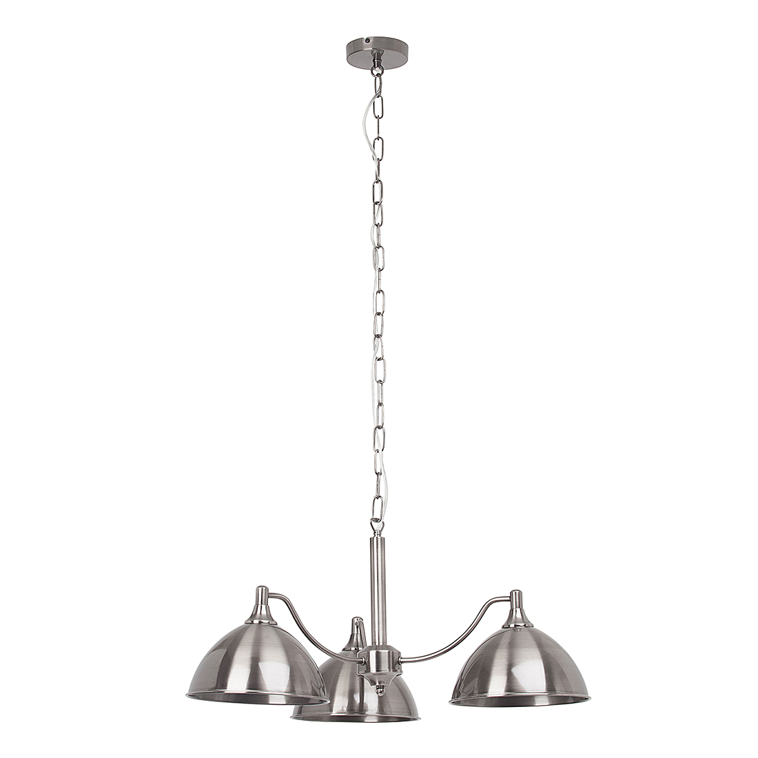 Brilliant c belis plafonnier 2 lumi res l26cm lustre for Suspension 3 lumieres
