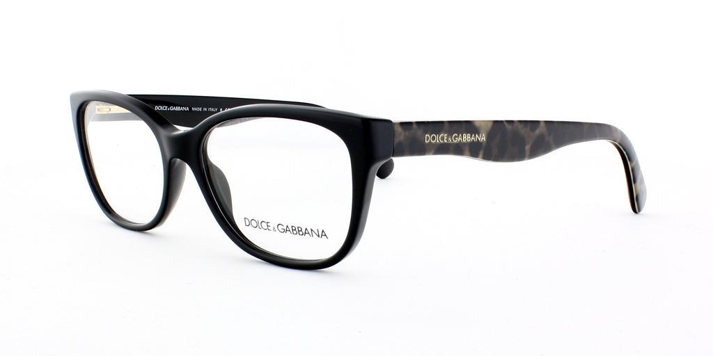 Référence produit  C   Gabbana DG 3136 2525 Noir Noir Elegant Marque  Dolce  Catégorie  Lunettes de vue 045353f5bb3f