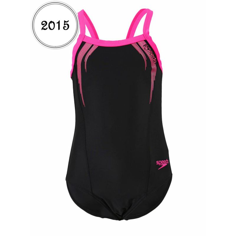 speedo maillot de bain 1 pi ce enfant sports logo thinst. Black Bedroom Furniture Sets. Home Design Ideas