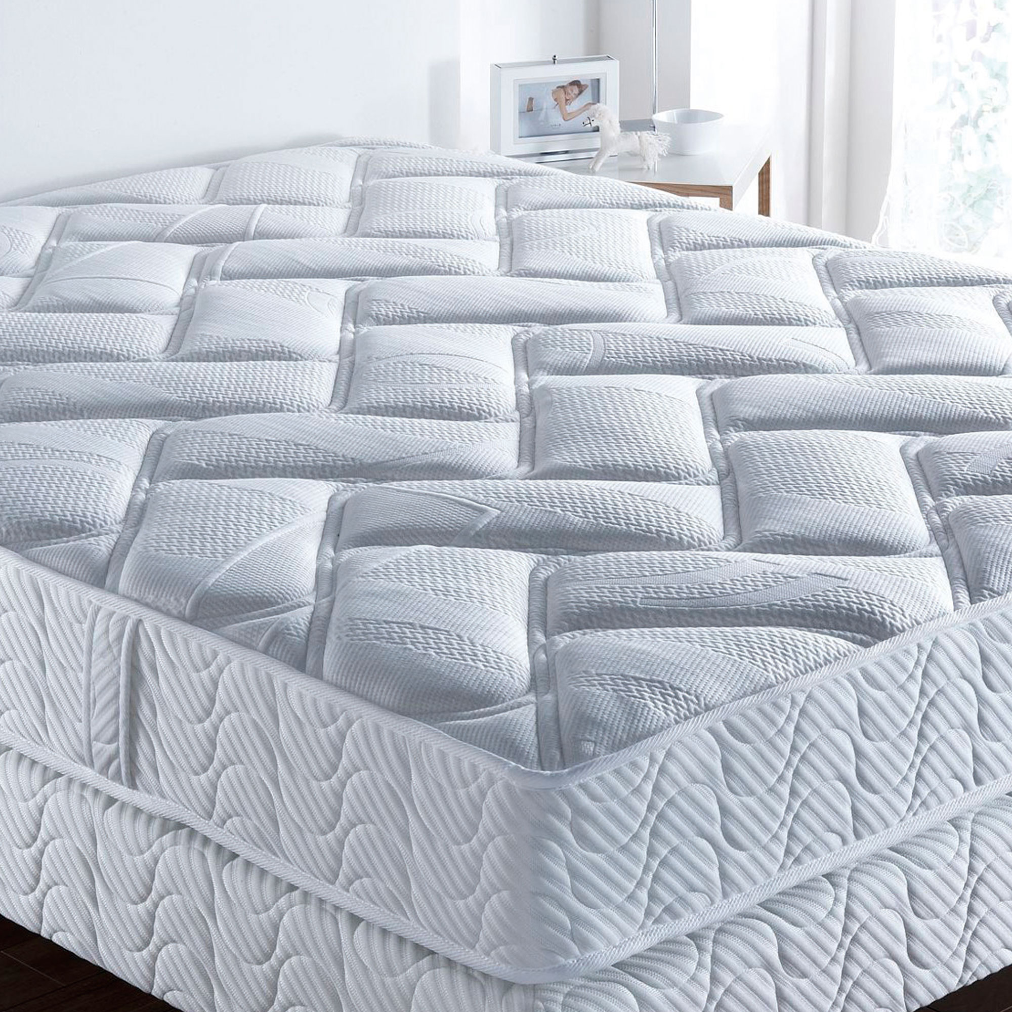 bultex matelas mousse 2 personnes 140 x 190 cm desirade. Black Bedroom Furniture Sets. Home Design Ideas
