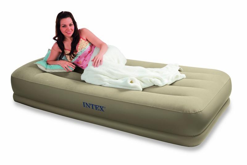 intex lit dappoint basic 1 place. Black Bedroom Furniture Sets. Home Design Ideas