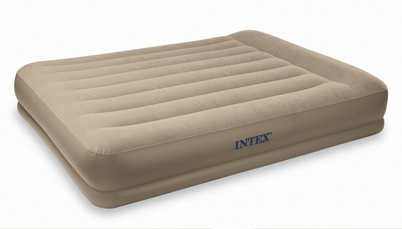 intex cmatelas gonfable deluxe rest bed 1 personne. Black Bedroom Furniture Sets. Home Design Ideas
