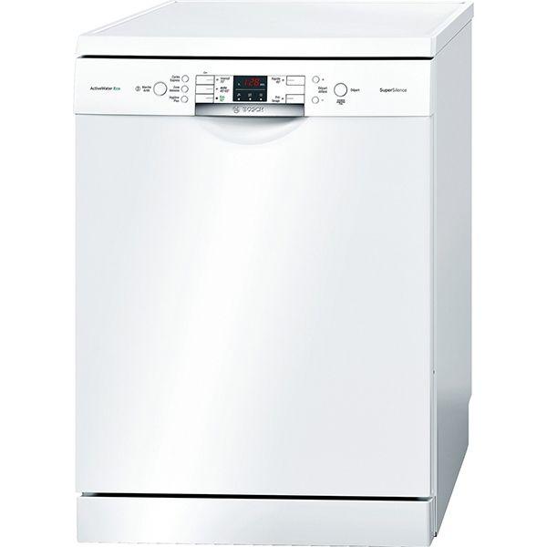 bosch lave vaisselle 60cm 13 couverts a pose libre blanc. Black Bedroom Furniture Sets. Home Design Ideas